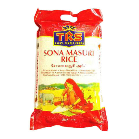 TRS Sona Masuri Rice 5 kg - Sabadda - Indian Online Grocery Store in UK