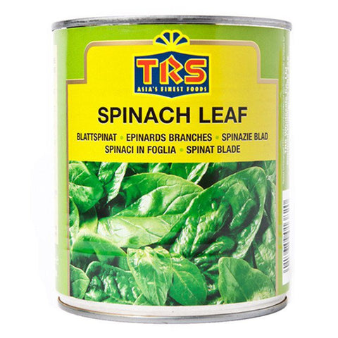 TRS Canned Spinach Leaf 400ml - SabAdda - Asian Grocery Store