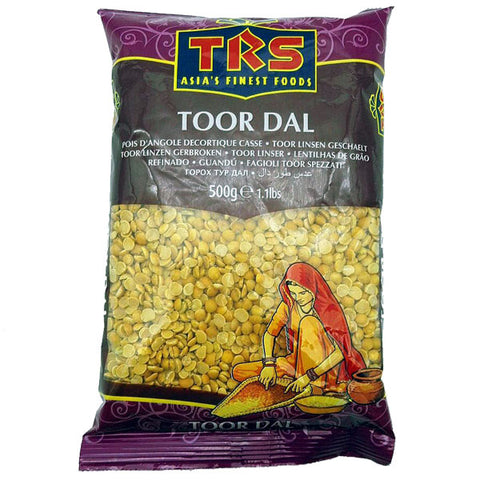 TRS Toor Dal 500 gm - Sabadda - Indian Online Grocery Store in UK