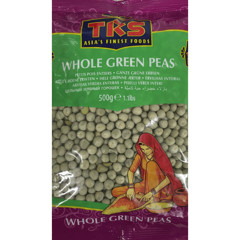 TRS Whole Green Peas 500 gm - Sabadda - Indian Online Grocery Store in UK
