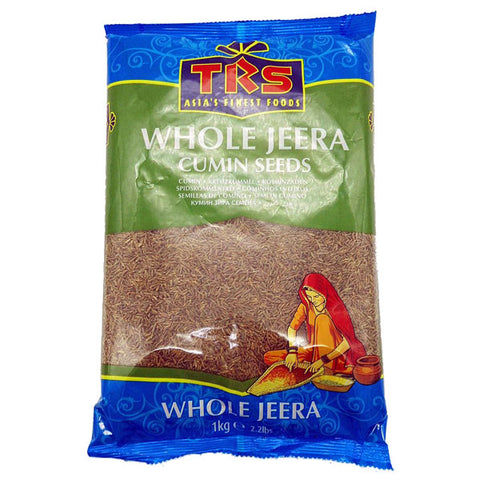 TRS Whole Jeera (Cumin Seeds) 1 kg - Sabadda - Indian Online Grocery Store in UK