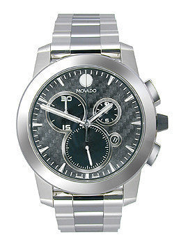 Movado Vizio Chronograph Stainless Steel Mens watch #0606551