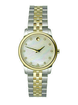 Movado Museum® Classic with Diamonds - Two-Tone Womens watch #606613