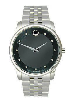 Movado Museum Classic Two-Hand Stainless Steel Mens watch #0606878