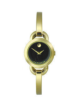 Movado Rondiro Two-Hand Gold Stainless Steel Womens watch #0606888
