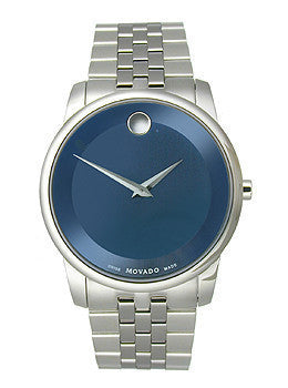 Movado Museum Classic Two-Hand Stainless Steel Mens watch #0606982