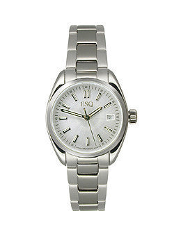 ESQ by Movado Sport Classic Brushed Silver Dial Womens watch #07101353