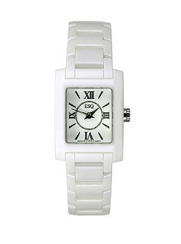 ESQ Movado ESQ by Movado Venture White Dial Womens Watch #07101385