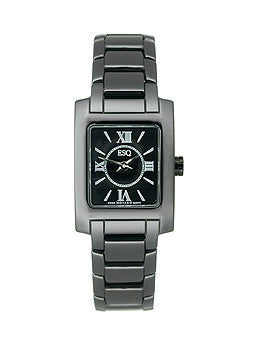 ESQ Movado ESQ by Movado Venture Black Dial Womens Watch #07101386