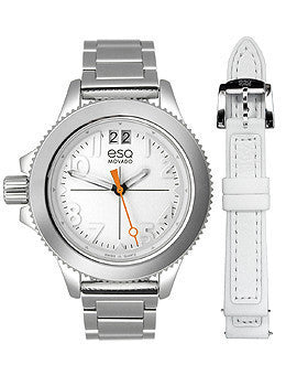 ESQ by Movado Fusion Three-Hand Stainless Steel Womens watch #07101404