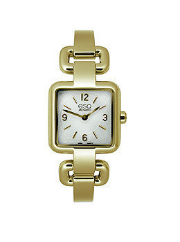 ESQ Status Gold-Tone Stainless Steel Bangle Womens watch #07101421
