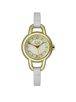 ESQ Status Metallic Silver-Tone Dial Womens Watch #07101450