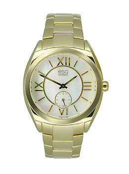 ESQ Movado Origin Yellow Gold Stainless Steel Womens watch #07101458