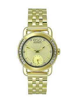 ESQ Movado Classica Yellow Gold Stainless Steel Womens watch #07101465