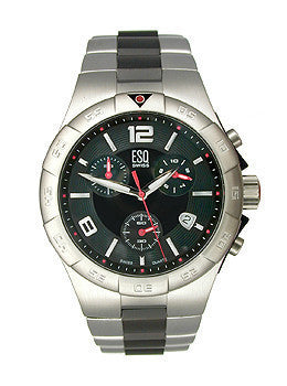 ESQ by Movado Rally Chronograph Black Dial Mens watch #07301104