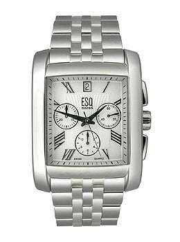 ESQ by Movado Prescott Chronograph White Dial Mens watch #07301293