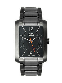 ESQ by Movado Synthesis Stainless Steel - Black Mens watch #07301411