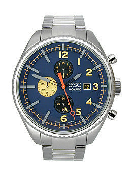 ESQ Movado Catalyst Chronograph Stainless Steel Mens watch #07301446