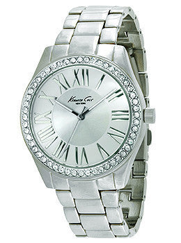 Kenneth Cole New York Three-Hand Stainless Steel Womens watch #10014580