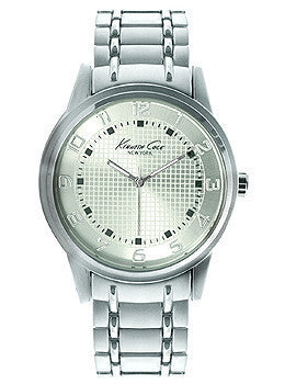 Kenneth Cole New York Three-Hand Stainless Steel Mens watch #10014652