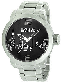 Kenneth Cole Reaction Three-Hand Alloy Mens watch #10020083