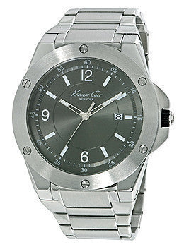 Kenneth Cole New York Three-Hand Stainless Steel Mens watch #10020832