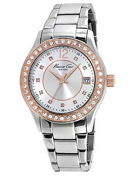 Kenneth Cole New York Three-Hand Stainless Steel Womens watch #10020851