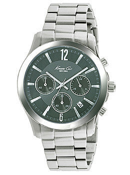 Kenneth Cole New York Chronograph Stainless Steel Mens watch #10022070