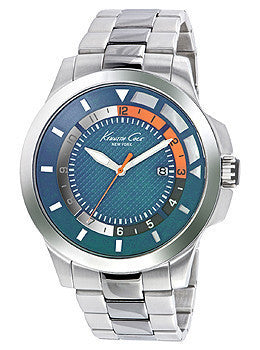 Kenneth Cole New York Transparent Stainless Steel Mens watch #10022293