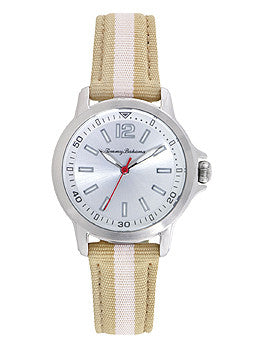 Tommy Bahama Island Breeze Khaki Nylon Strap Womens watch #10022440