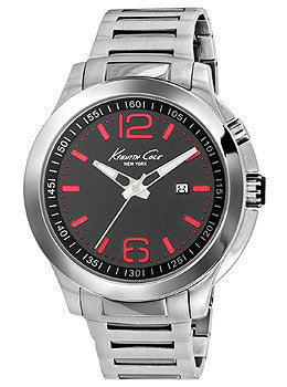 Kenneth Cole New York Three-Hand Stainless Steel Mens watch #10022557