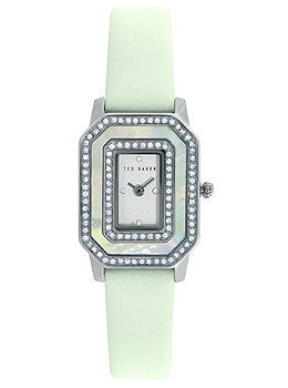 Ted Baker Bliss Two-Hand Mint Leather Strap Womens watch #10023482
