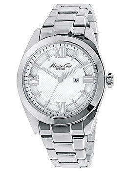 Kenneth Cole New York Three-Hand Stainless Steel Womens watch #10023856