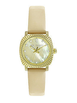 Ted Baker Mini Jewels Peach Leather Strap Womens watch #10024723