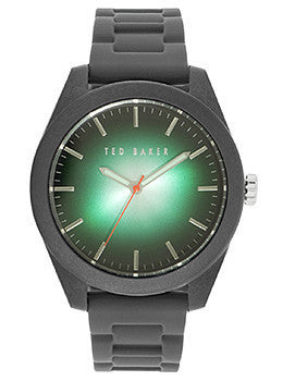 Ted Baker Sport Three-Hand Black Silicone Strap Mens watch #10024792