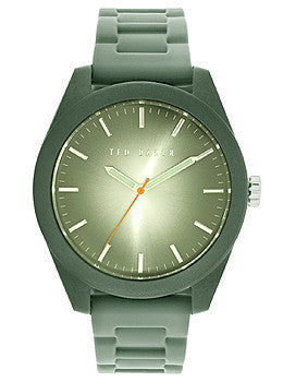 Ted Baker Sport Three-Hand Grey Silicone Strap Mens watch #10024793