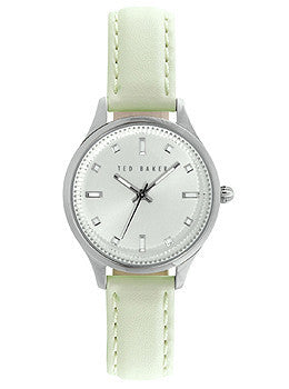 Ted Baker Dress Sport Mint Leather Strap Womens watch #10025268