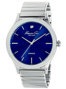 Kenneth Cole New York Three-Hand Stainless Steel Mens watch #10025945