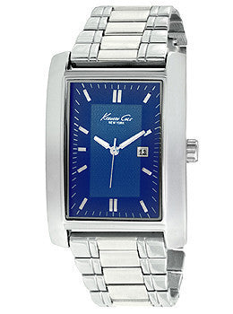 Kenneth Cole New York Three-Hand Alloy Bracelet Mens watch #10026928