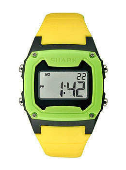Freestyle Shark Classic - Neon/Black/Green Digital Unisex watch #101808