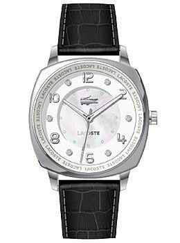 Lacoste Sportswear Collection Palma Leather Strap White Dial Womens watch #2000603