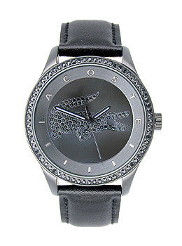 Lacoste Victoria Leather - Black Womens watch #2000823