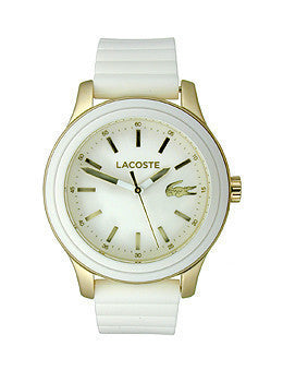 Lacoste Rio New Three-Hand White Silicone Womens watch #2000904