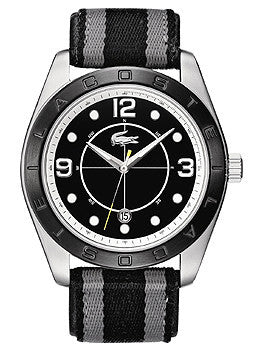 Lacoste Sportswear Collection Panama Black Dial Mens watch #2010575