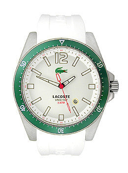 Lacoste Seattle Silicone - White Mens watch #2010664