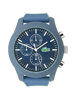 Lacoste Lacoste.12.12 Chronograph Navy Silicone Mens watch #2010824