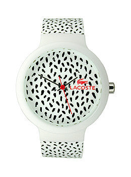 Lacoste Goa Three-Hand White Silicone Unisex watch #2020095