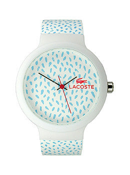 Lacoste Goa Three-Hand White Silicone Unisex watch #2020096