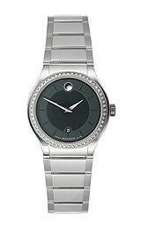 Movado Quadro Two-Hand Stainless Steel Womens watch #606495