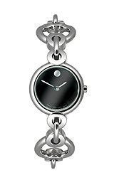 Movado Circlo Black Museum Dial Womens Watch #0606487